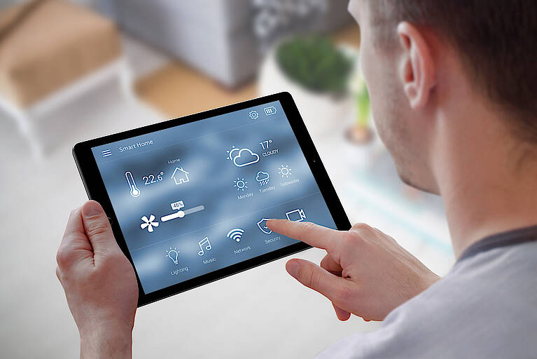 Touchpad für SmartHome