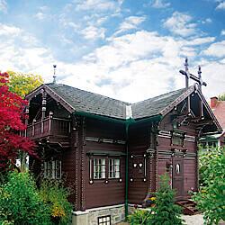Erstes Hartl Haus in vorgefertigter Bauweise