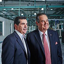 Geschäftsführung von Hartl Haus, Peter und Roland Suter