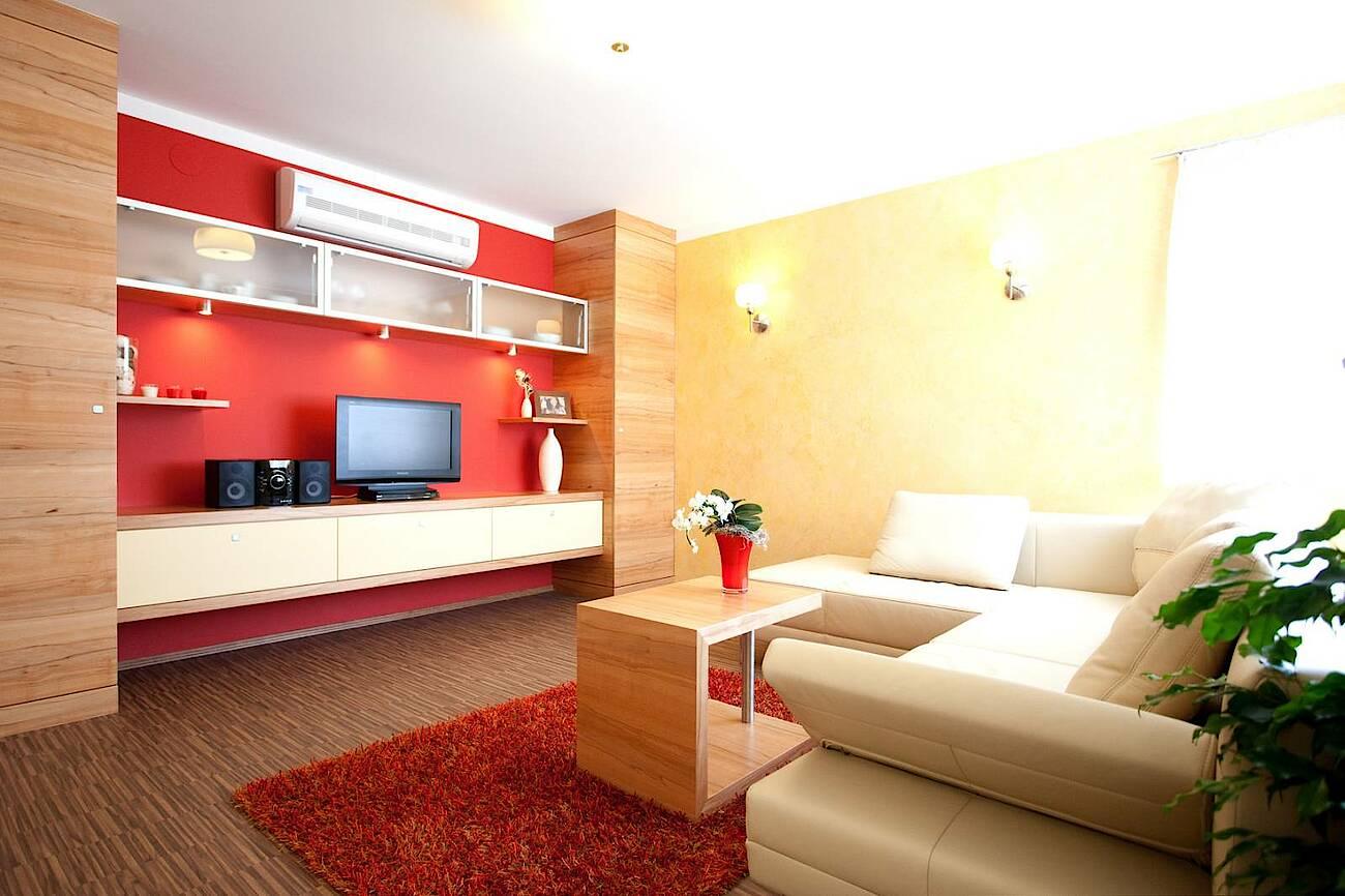 Musterhaus Blaue Lagune - Trend 146 Villa Wohnzimmer