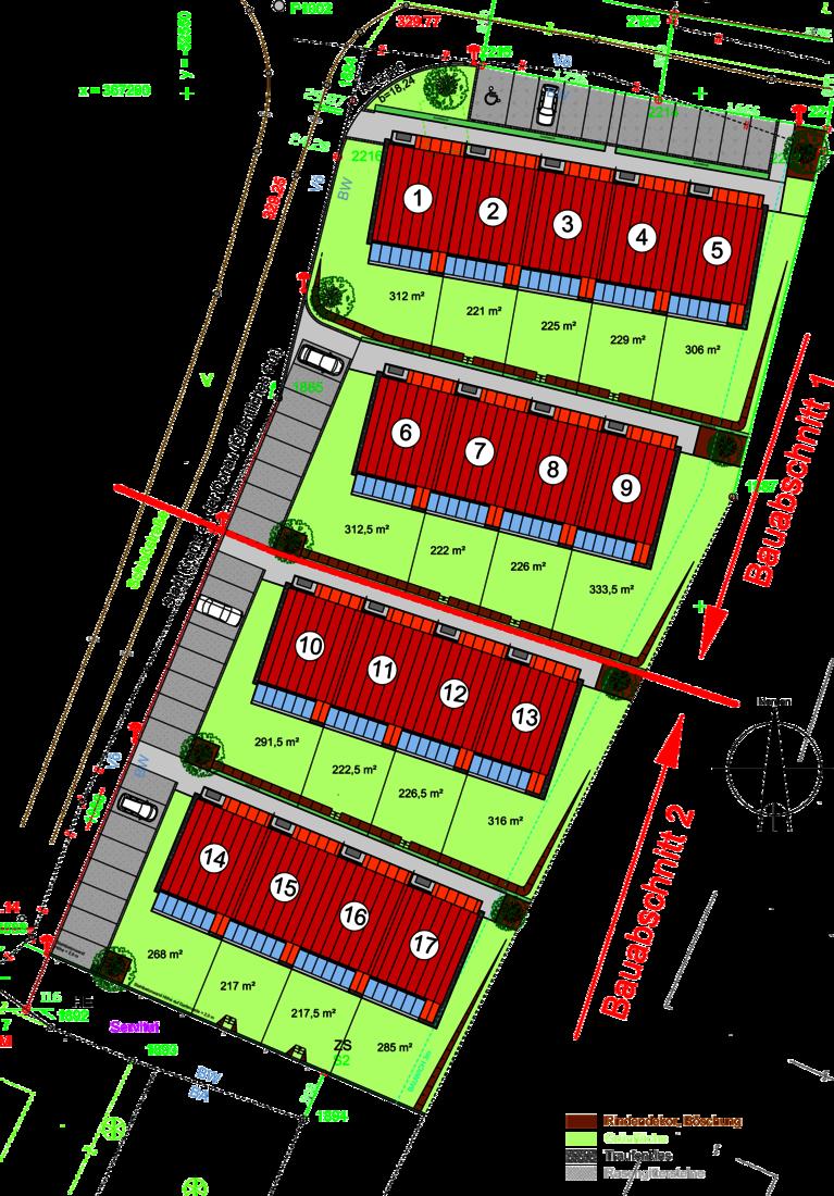 Lageplan Krems/Gneixendorf