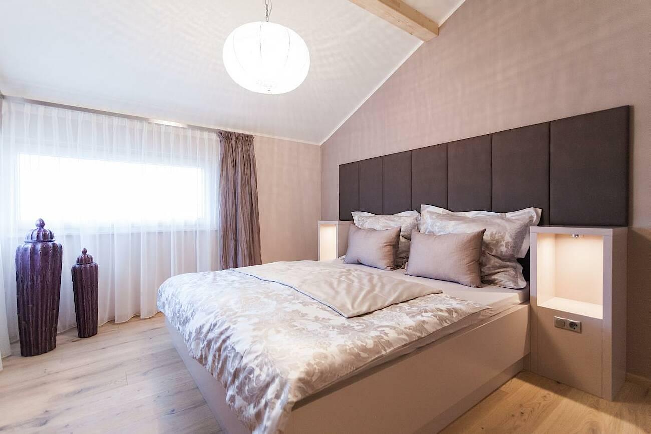 Musterhaus Classic 157 S - Dachfirst offen - Schlafzimmer