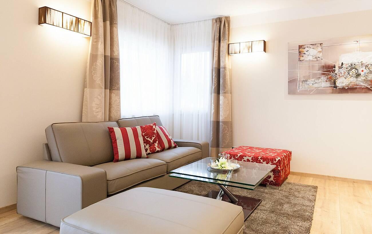 Musterhaus Linz-Haid - Wohnzimmer