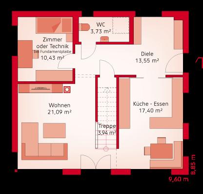 Variante Erdgeschoss