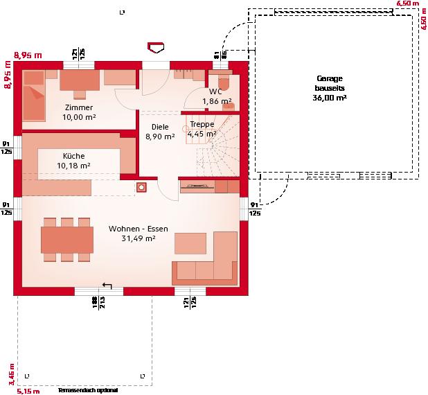 Classic 133 S - Erdgeschoss