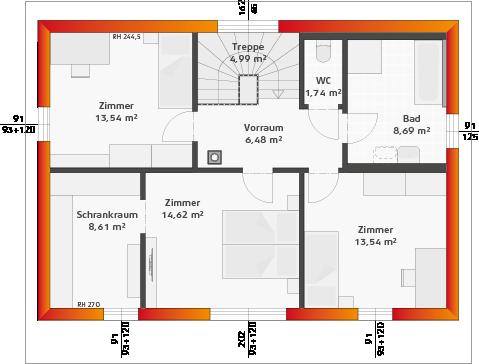 Basis-Dachgeschoss