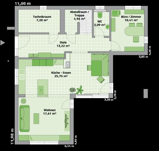 Erdgeschoss - MH Poing