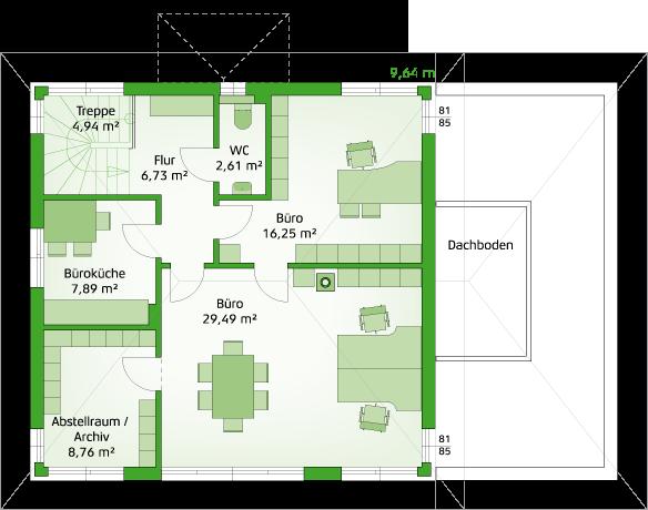 Variante Obergeschoss
