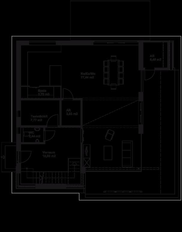 Variante - Erdgeschoss