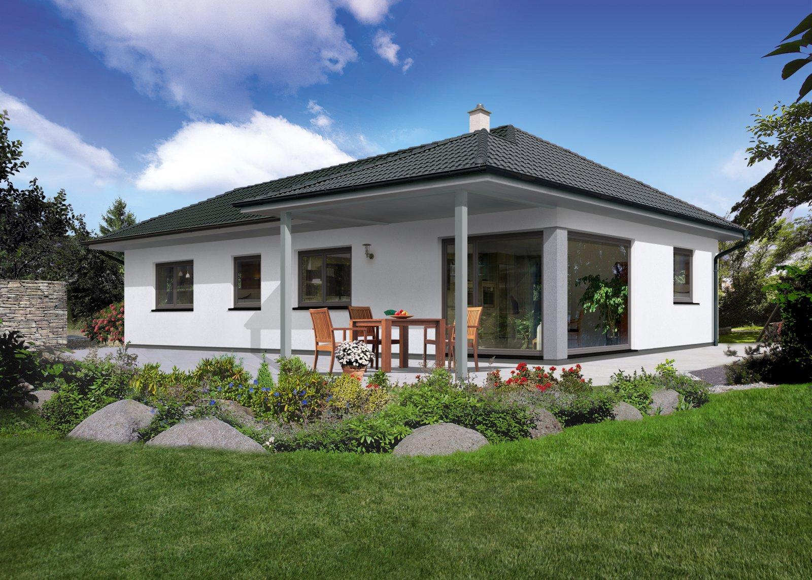 Trend 100 W - Panoramaverglasung und Terrassenüberdachung