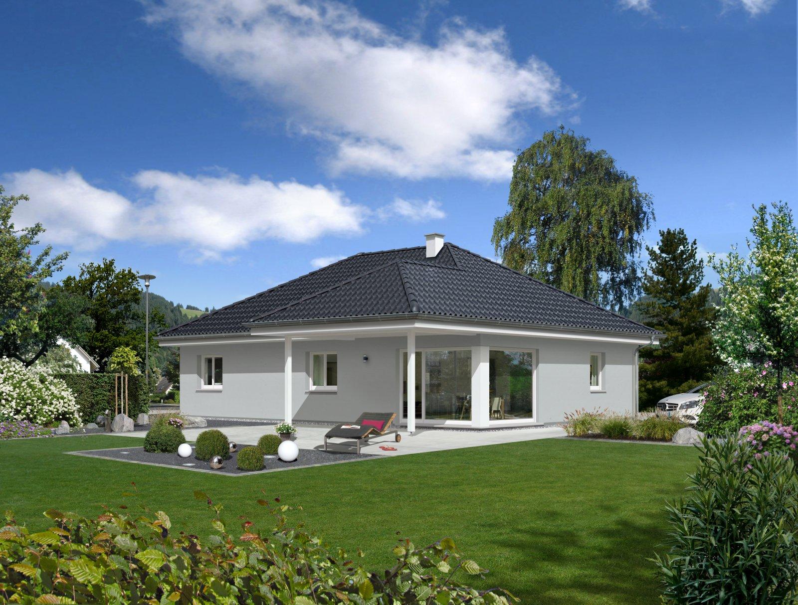 Trend 112 W - Panoramaverglasung und Terrassenüberdachung