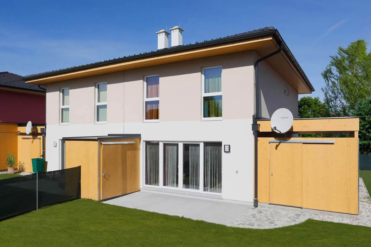 Doppelhaus 120 W