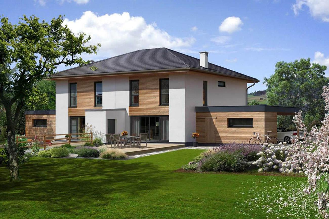 Doppelhaus 140 W