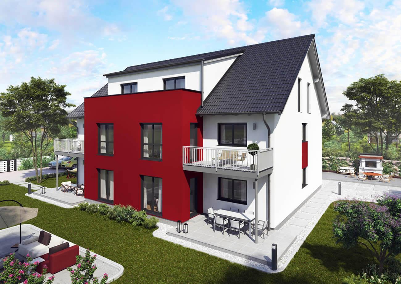 Mehrfamilienhaus 501 S - 6 Wohneinheiten