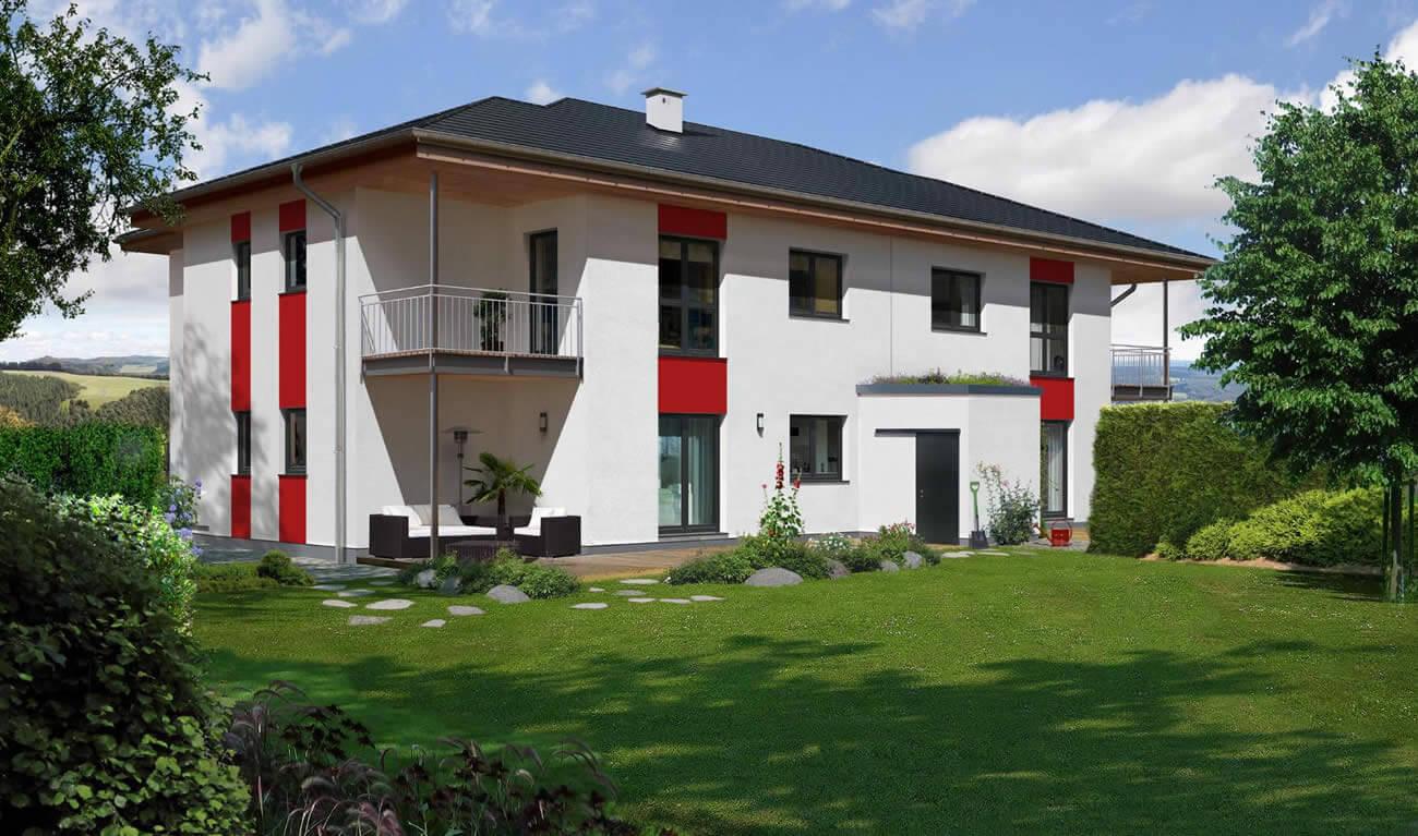 Mehrfamilienhaus 384 W