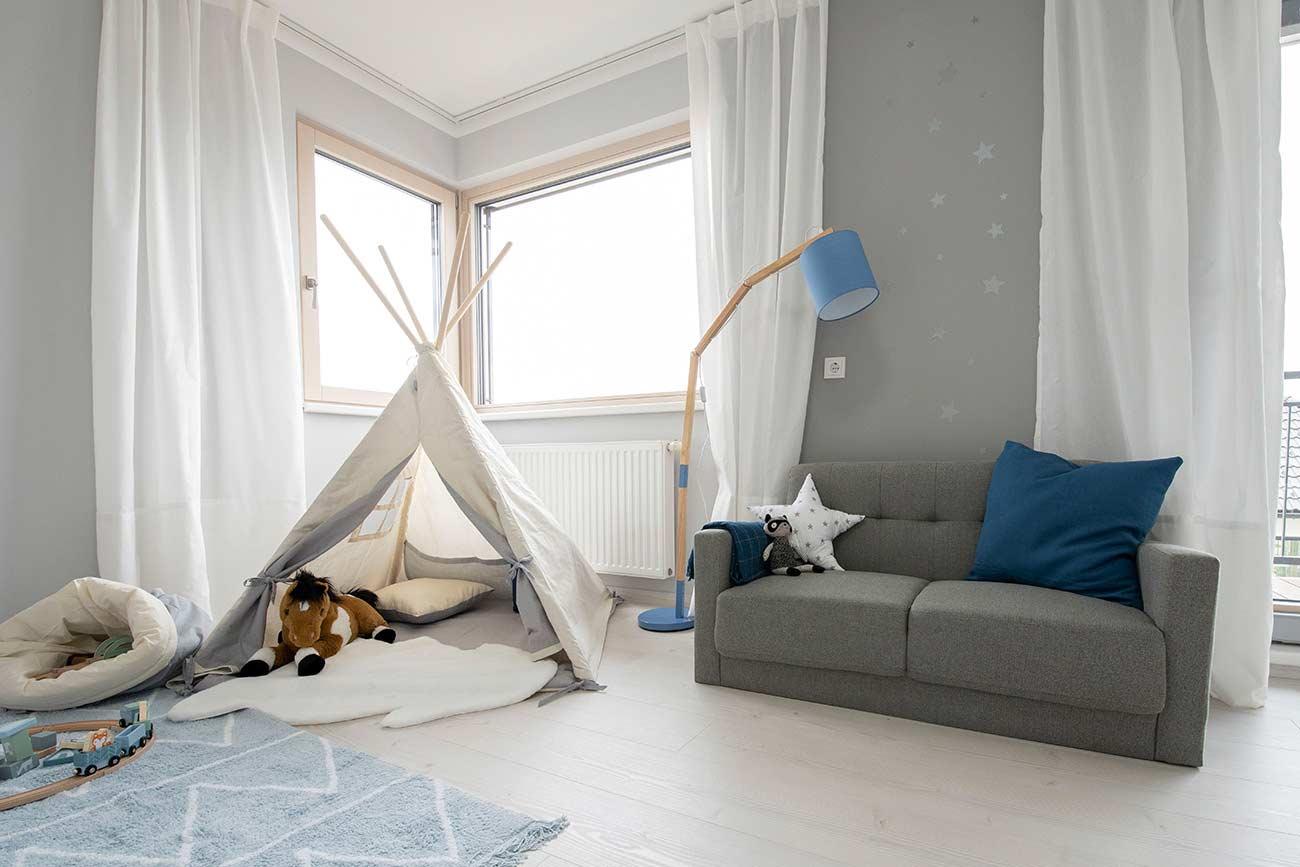 Musterhaus Blaue Lagune - Trend 146 Villa Kinderzimmer