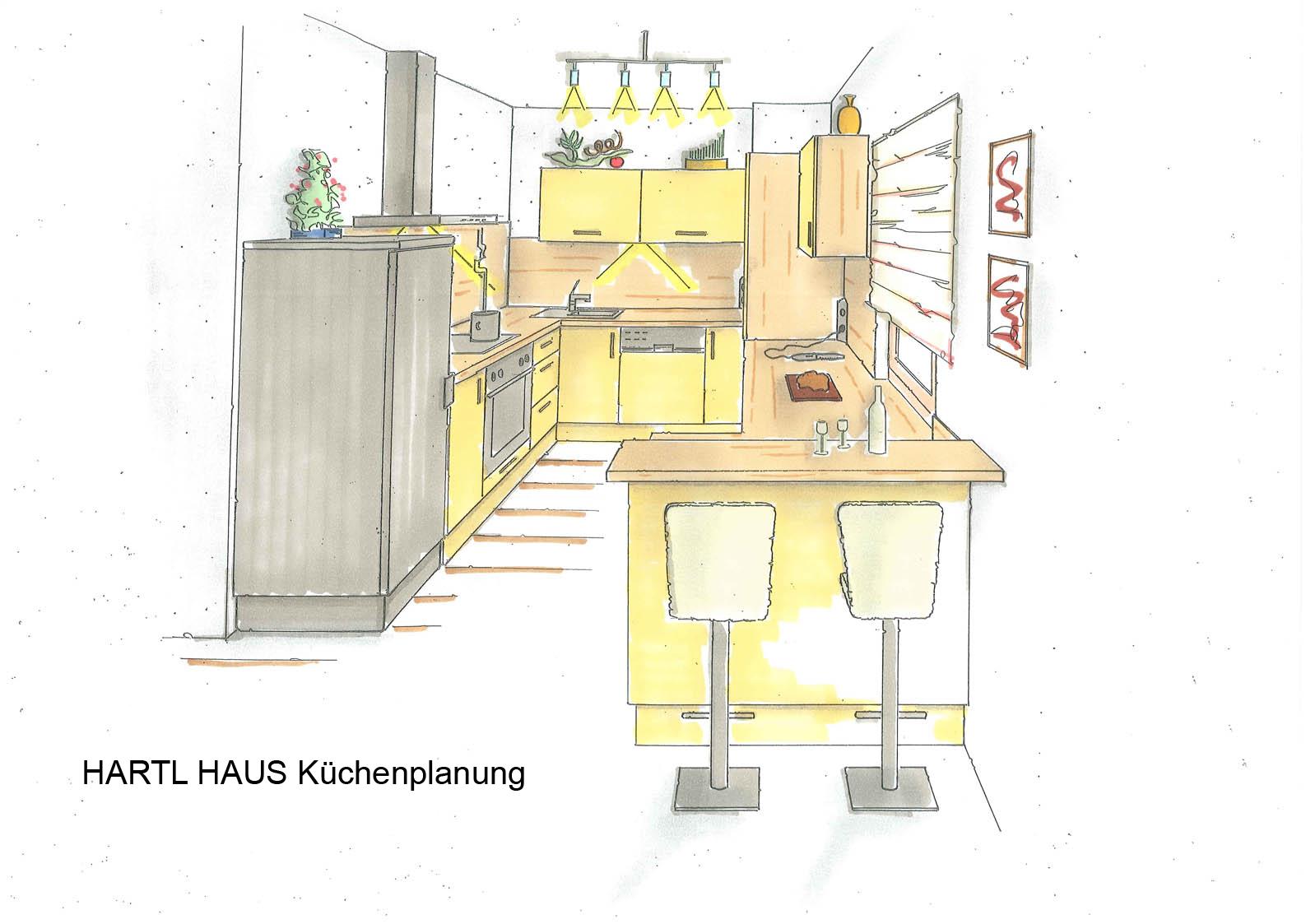 Trend 124 - HARTL HAUS Küchenplanung