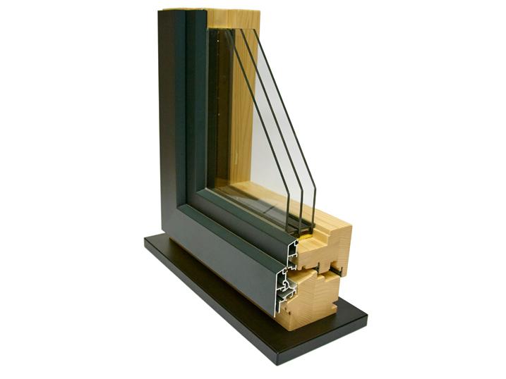 3-fach-Wärmeschutzverglastes Fenstermodell