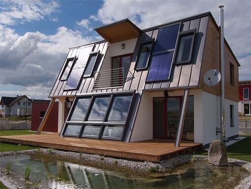 Energy X - zweites klima:aktiv Musterhaus