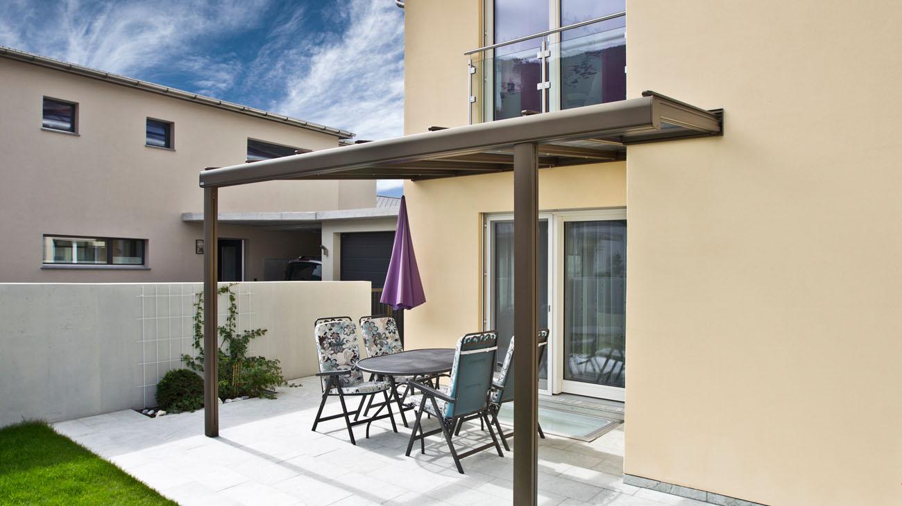 Musterhaus Classic 160 W - Terrasse